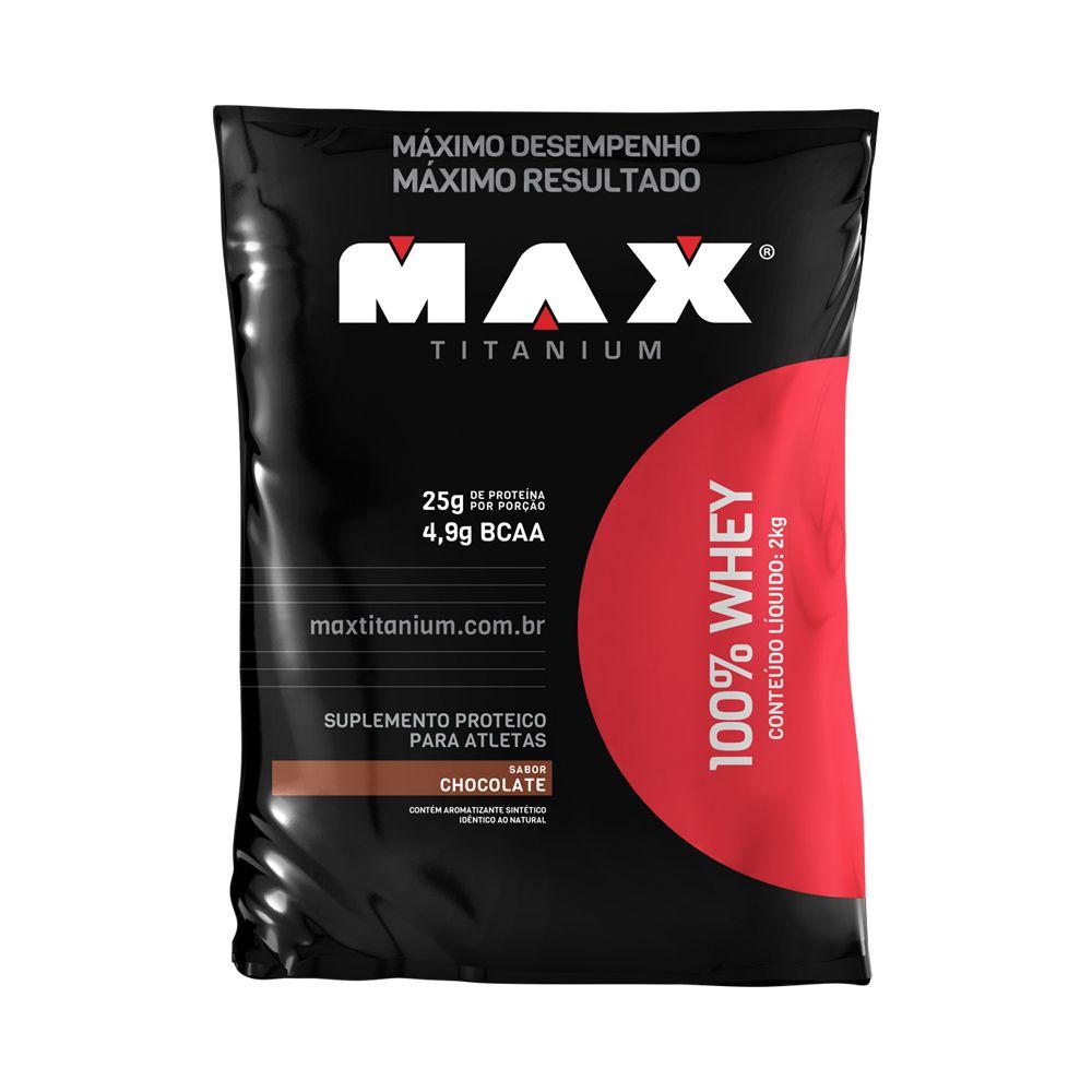 100% WHEY MAX TITANIUM - 2kG