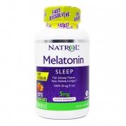 Melatonina | 5 Mg | Dissolve na Boca | Natrol | 150 Tbs