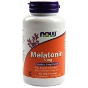 MELATONINA 5MG NOW FOODS - 180 CAPS
