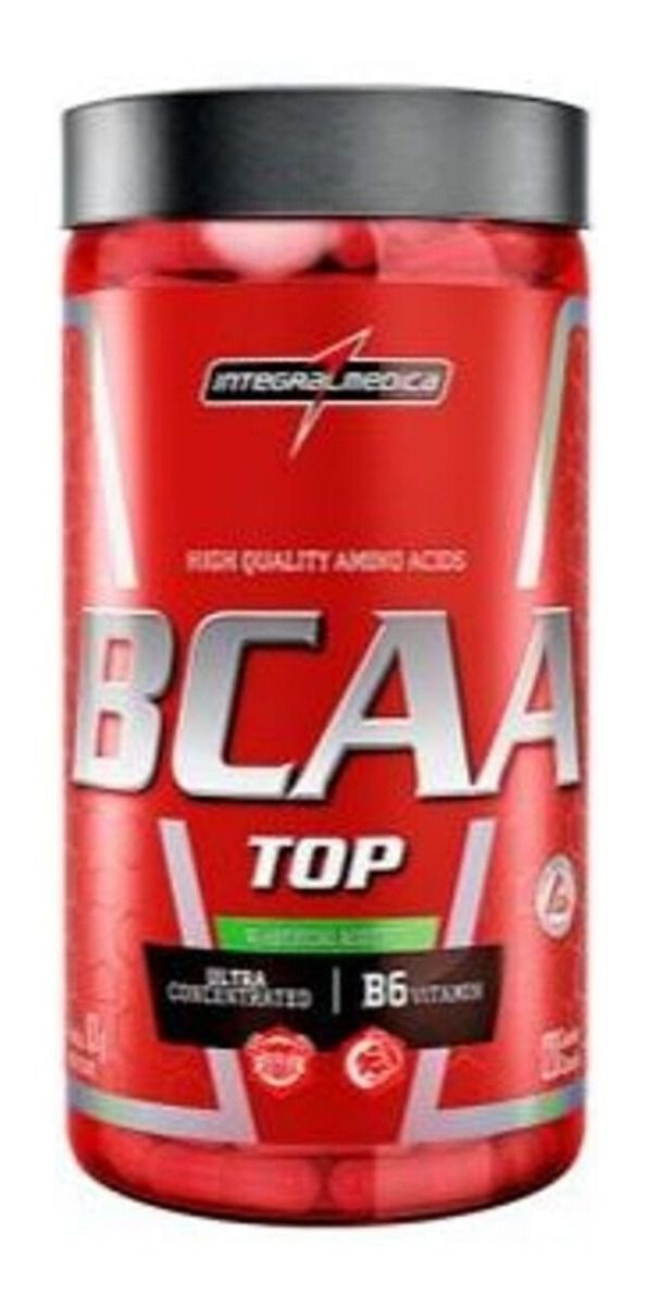 BCAA TOP 3800 INTEGRALMEDICA - 120 CAPS