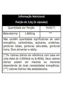 BETA ALANINA VITAFOR - 120 CAPS