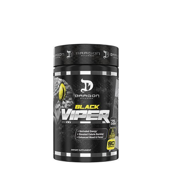 Black Viper (90 cápsulas) Termogênico Dragon