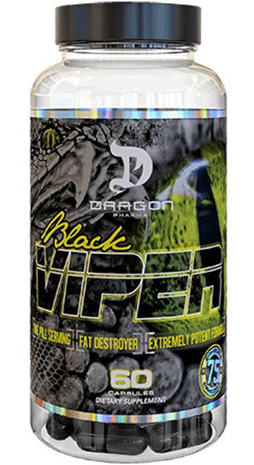 BLACK VIPER DRAGON PHARMA - 90 CAPS