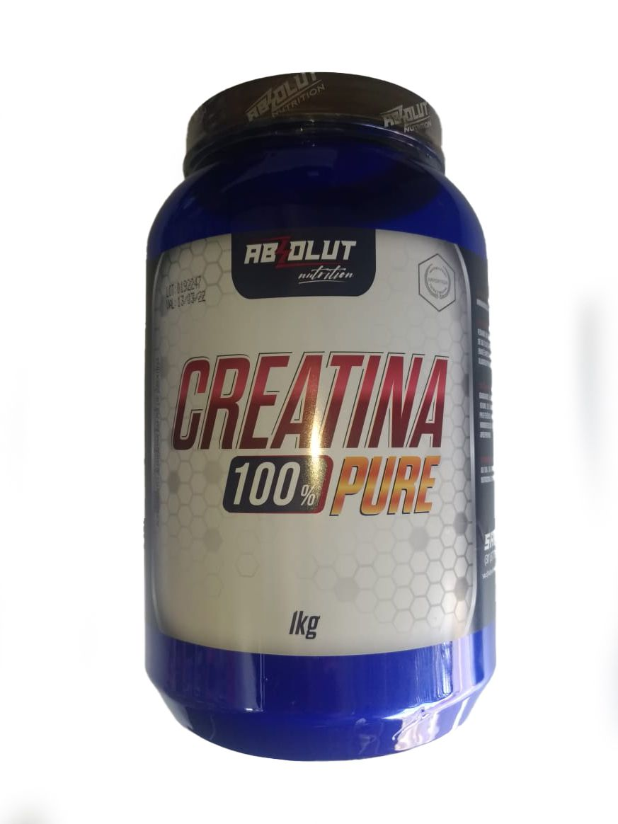CREATINA 100% PURE ABSOLUT NUTRITION - 1KG