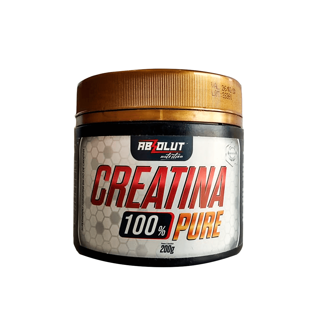 CREATINA 100% PURE ABSOLUT NUTRITION - 200G