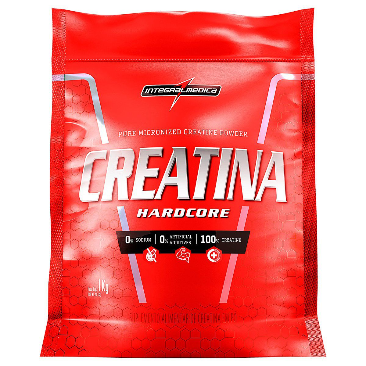 CREATINA HARD CORE RELOAD - INTEGRALMÉDICA 1KG