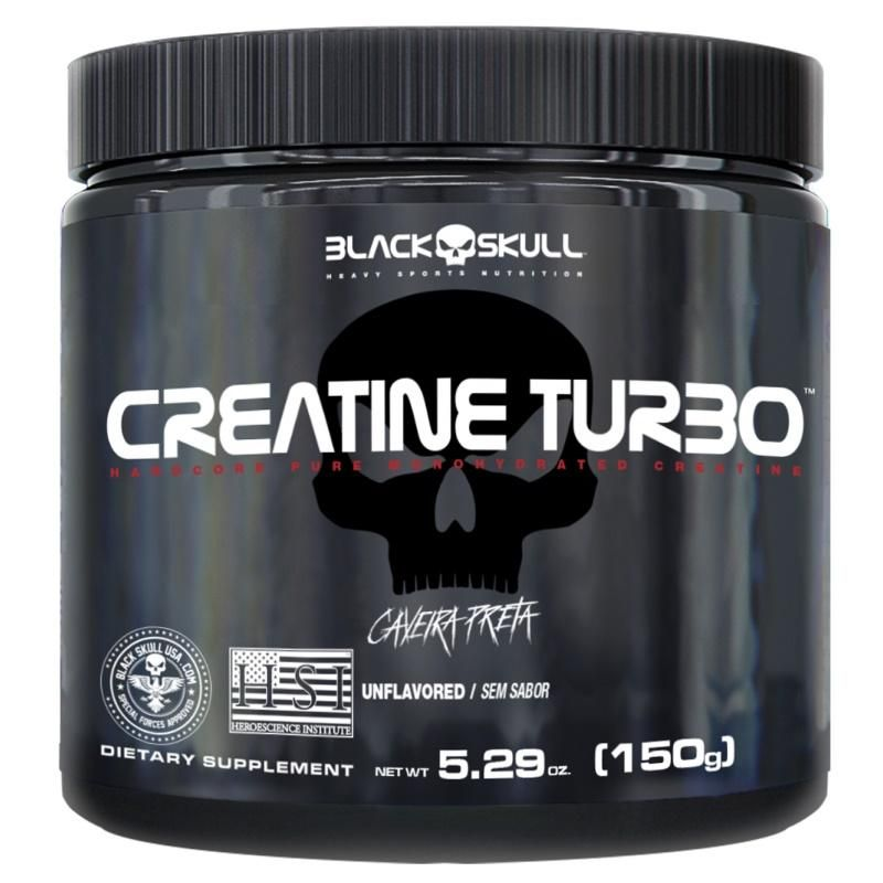 CREATINE TURBO BLACK SKULL - 150G