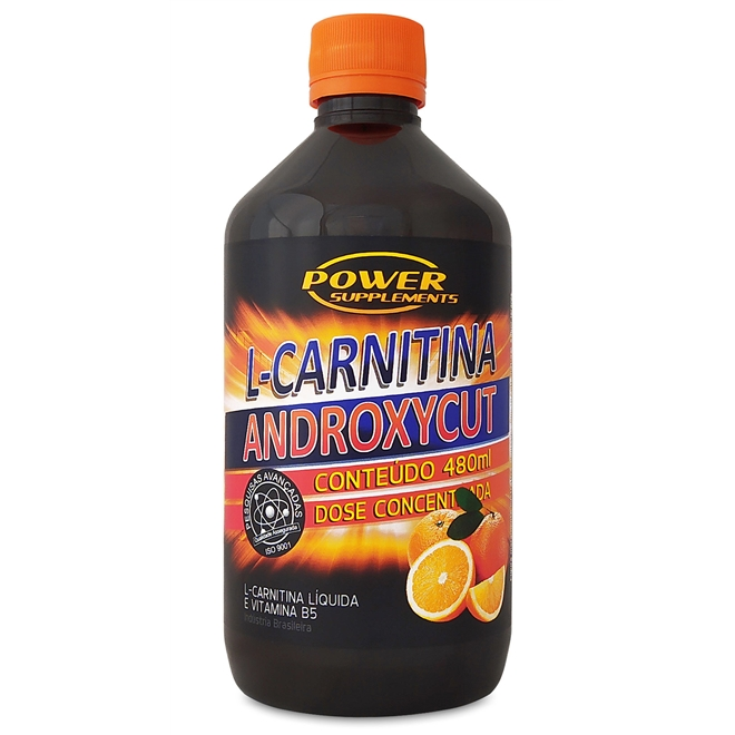 L-CARNITINA ANDROXYCUT POWER SUPPLEMENTS - 480ML