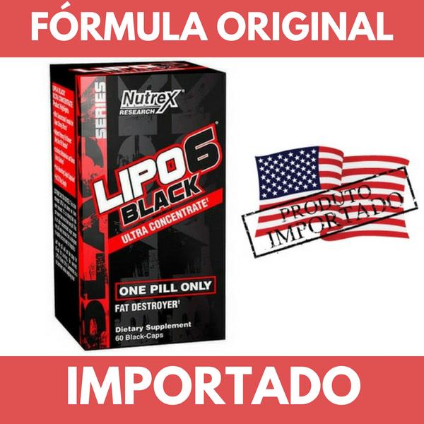 LIPO 6 BLACK ULTRA CONCENTRADO NUTREX (IMPORTADO) - 60 CAPS