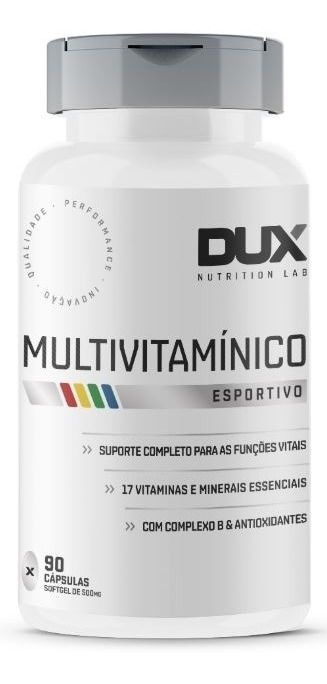 Multivitamínico Dux Nutrition - 90 cápsulas