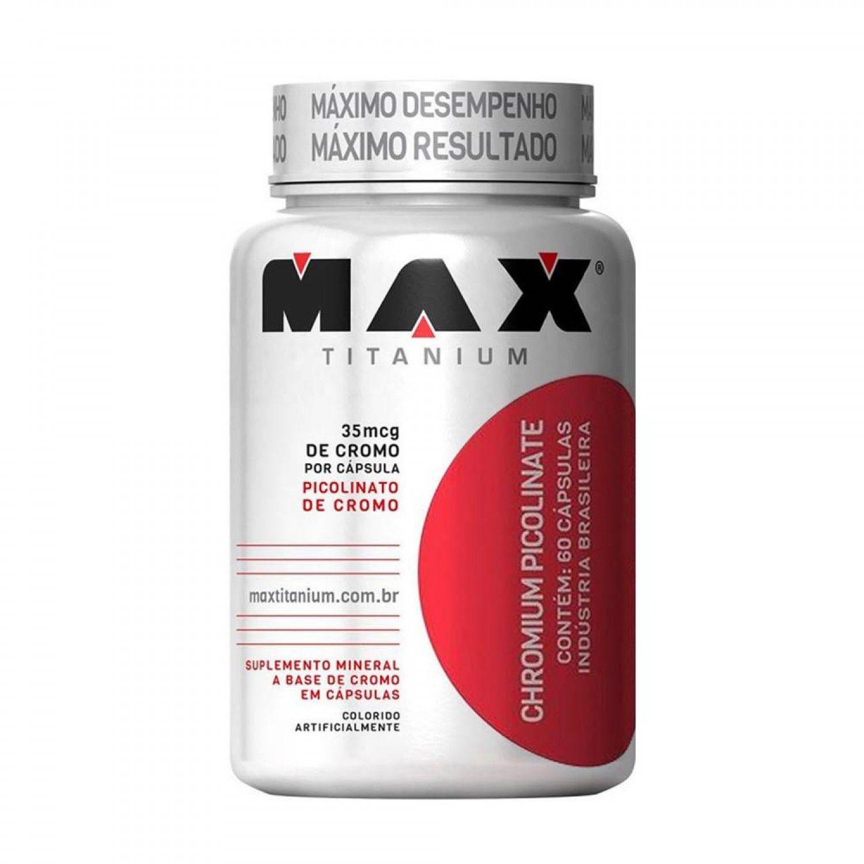 PICOLINATO DE CROMO MAX TITANIUM - 120 CAPS