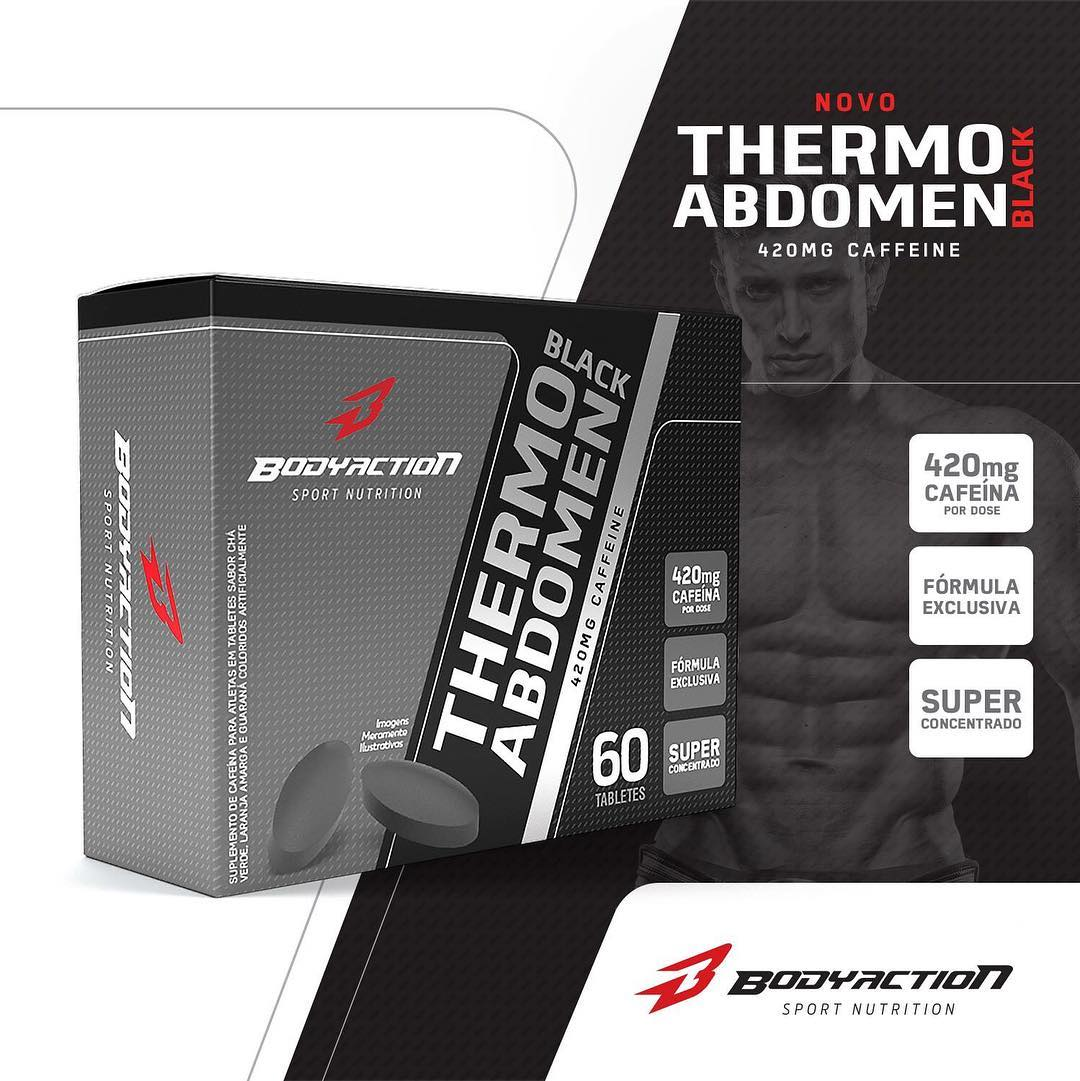 THERMO ABDOMEN BLACK - 60 TABS