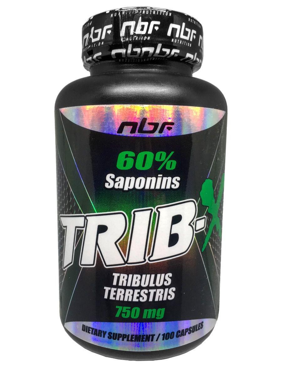 TRIBULUS TERRESTRIS TRIB-X 60% SAPONINS 750mg POR CAPSULA