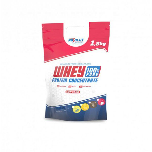 WHEY 100% PURE  ABSOLUT NUTRITION BAUNILHA - 1.8 KG