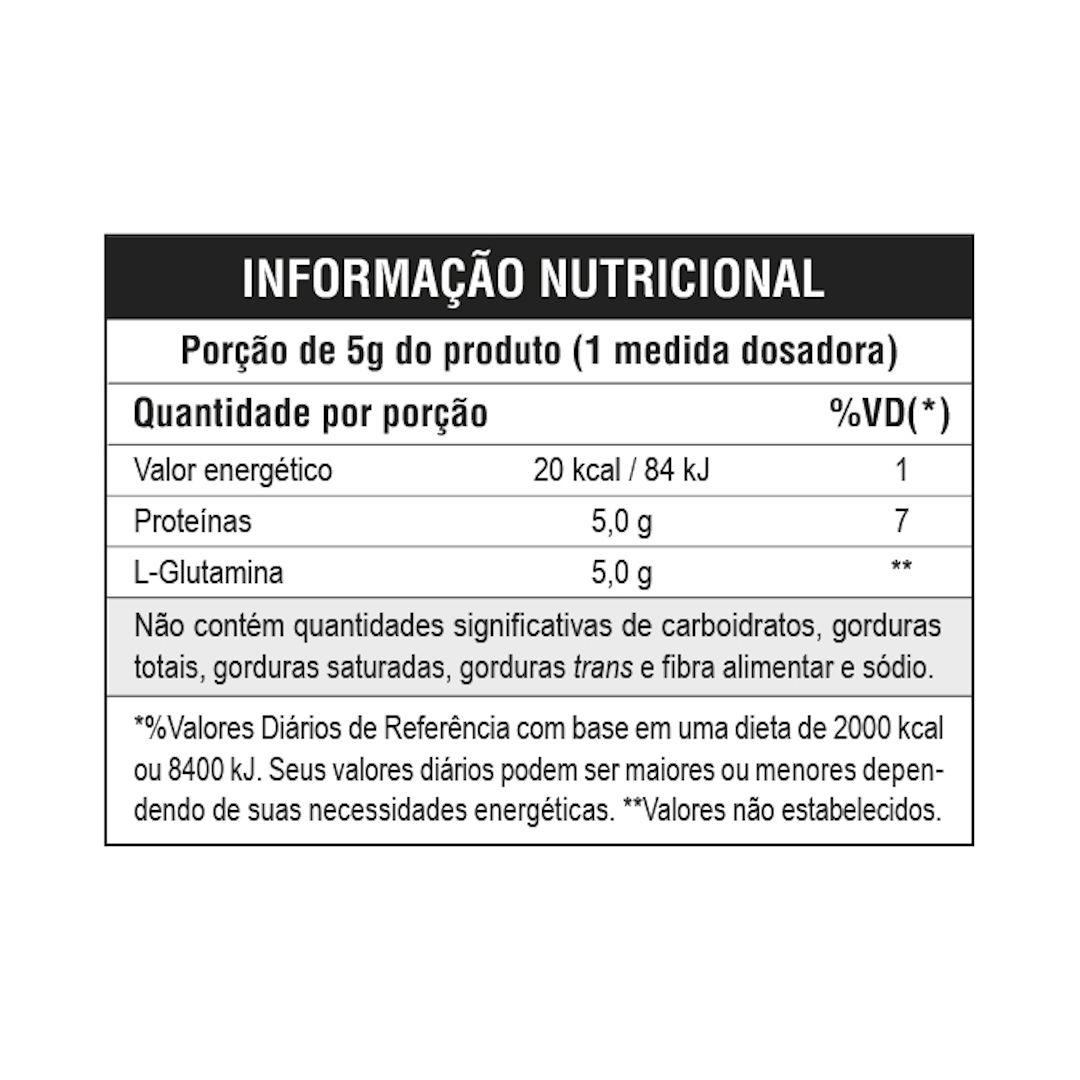 100% Glutamine Micronized (300g) - Leader Nutrition