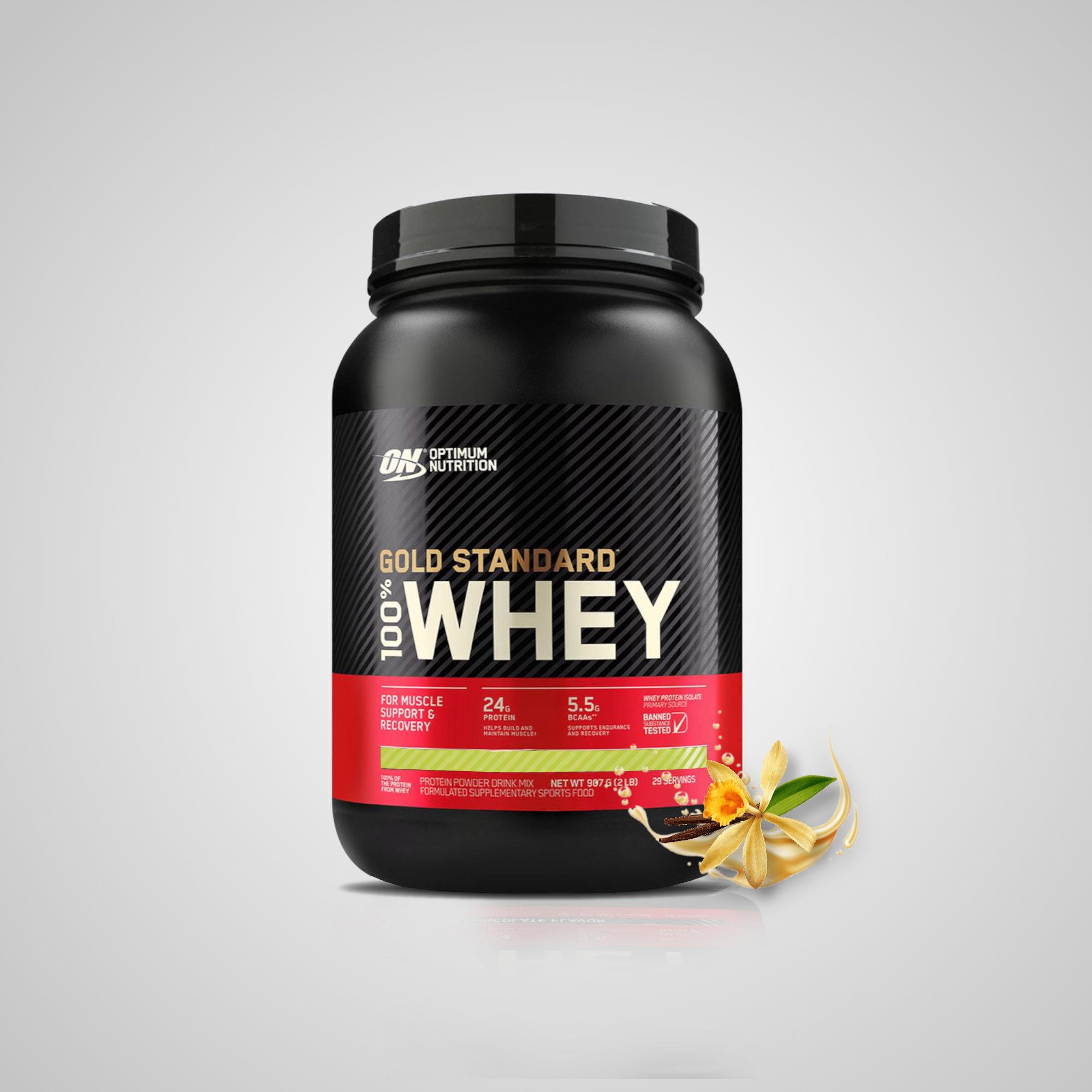 100% Whey Gold Standard (2Lbs) + BCAA Powder + Creatina -  Optimum Nutrition