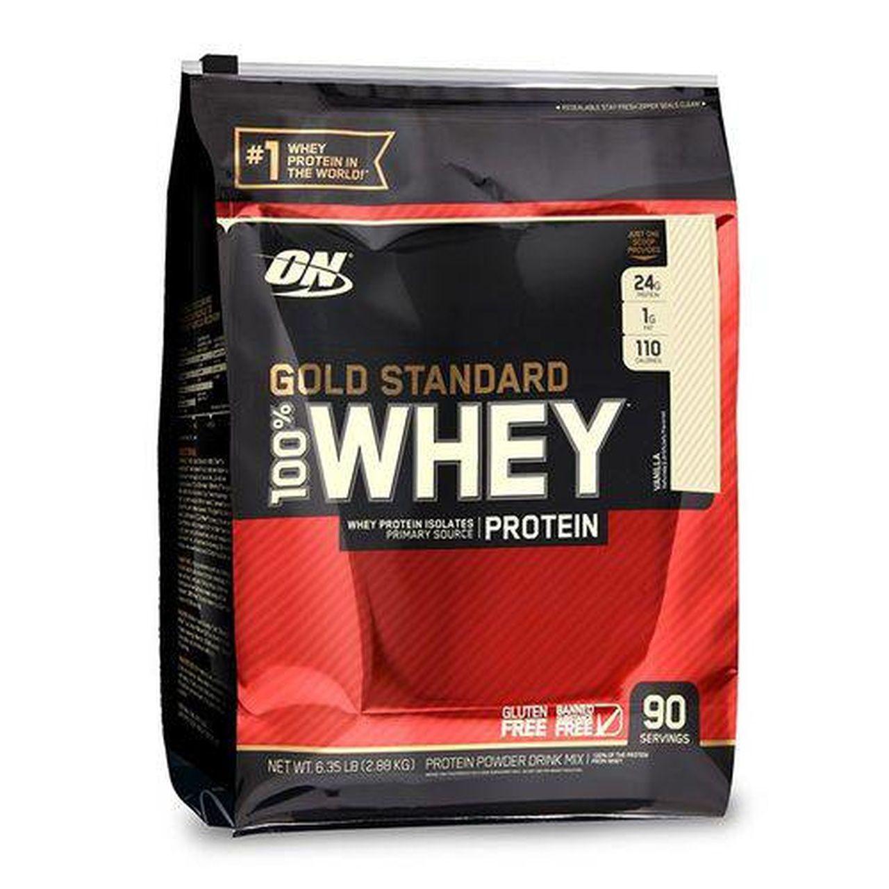 100% Whey Gold Standard (6.35Lbs/2.88kg) - Optimum Nutrition