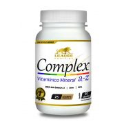 Complex A-Z com Omega 3 (60 Caps) - Leader Nutrition