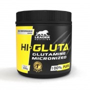 Hi-Gluta Glutamine Micronized (300g) - Leader Nutrition
