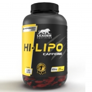Hi-Lipo Caffeine (120 Caps) - Leader Nutrition