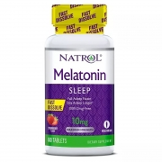 Melatonina 10mg (60 Tabs) Sublingual - Natrol