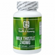 Milk Thistle 240mg (60 Caps) Fígado Saudável - Good Energy Health & Harmony