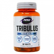 Tribulus Terrestris 1000mg (90 Tabletes) - Now Sports
