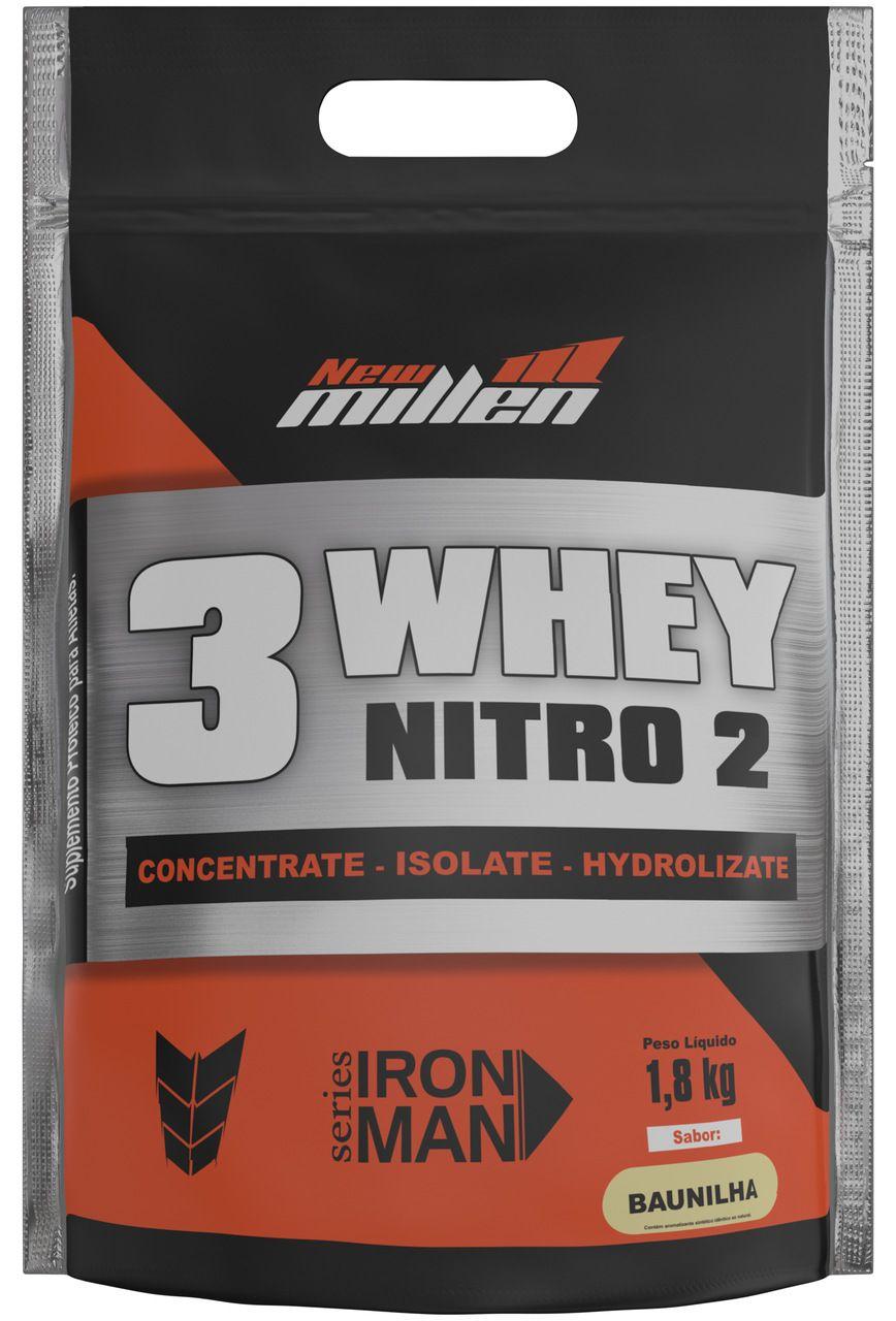 Whey 3W Nitro2 (1,8Kg) - New Millen