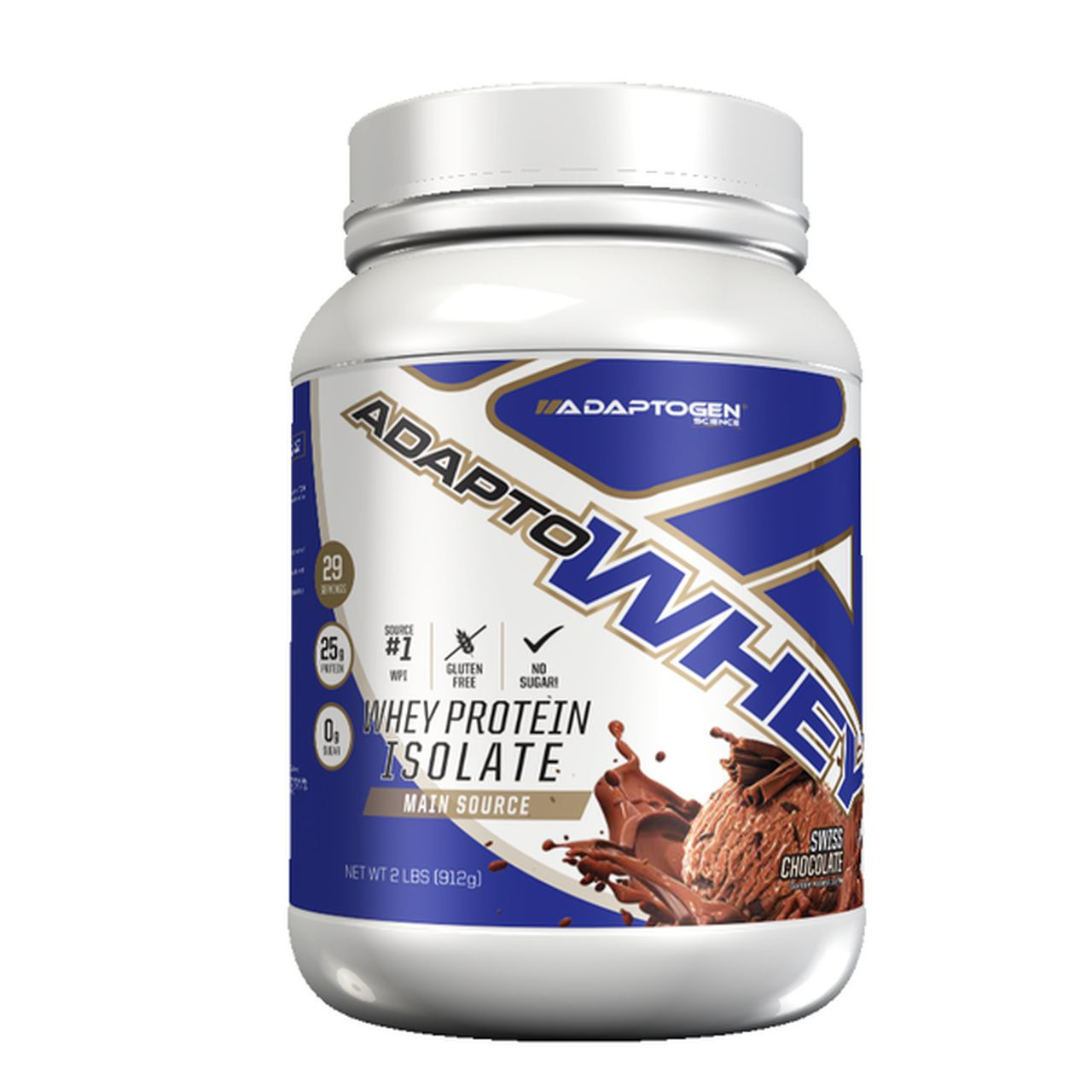 Adapto Whey (2lbs/910g) - Adaptogen Science