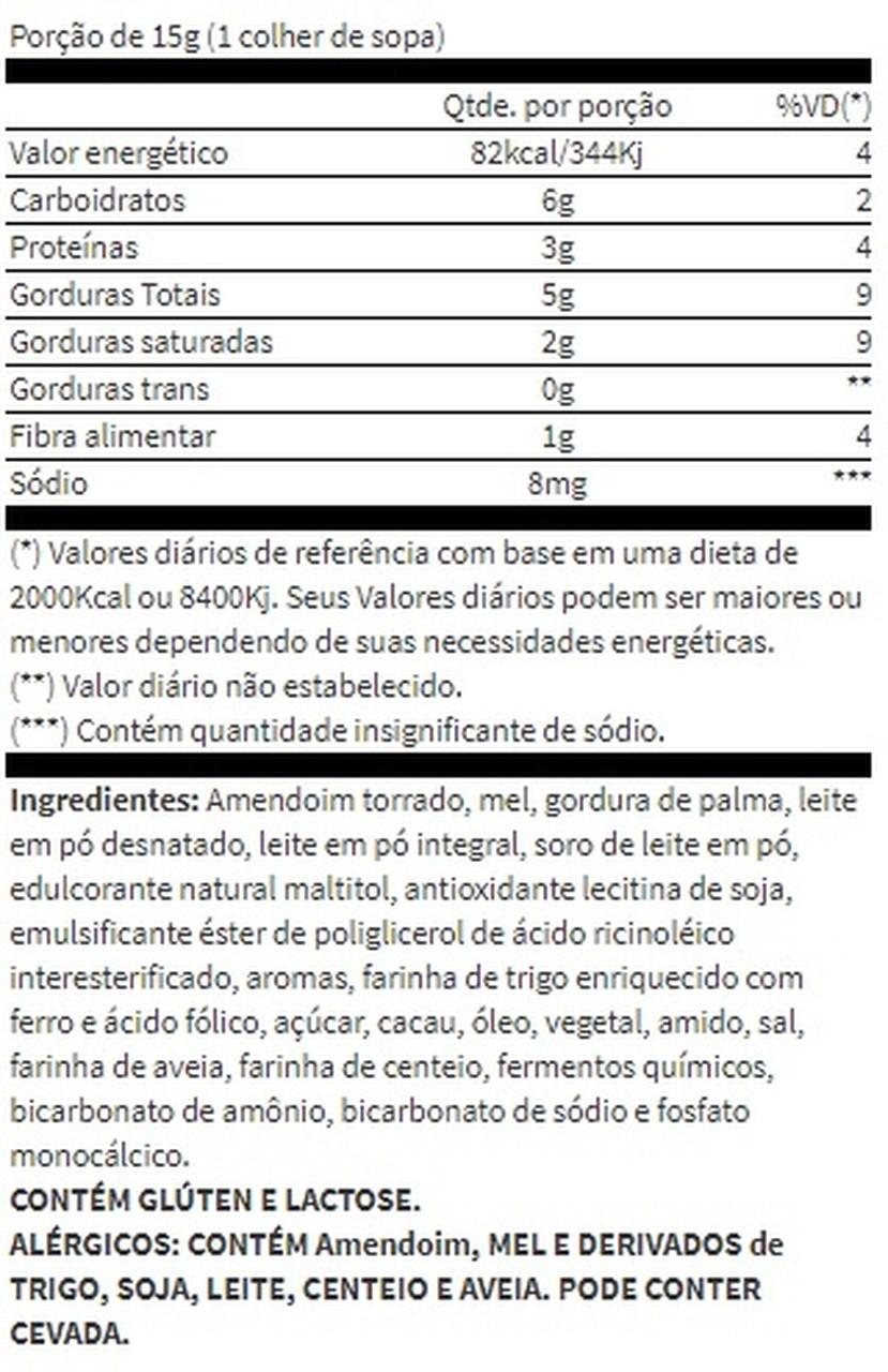 AmendoMel Chocolate Branco com Cookies (500g) - Thiani