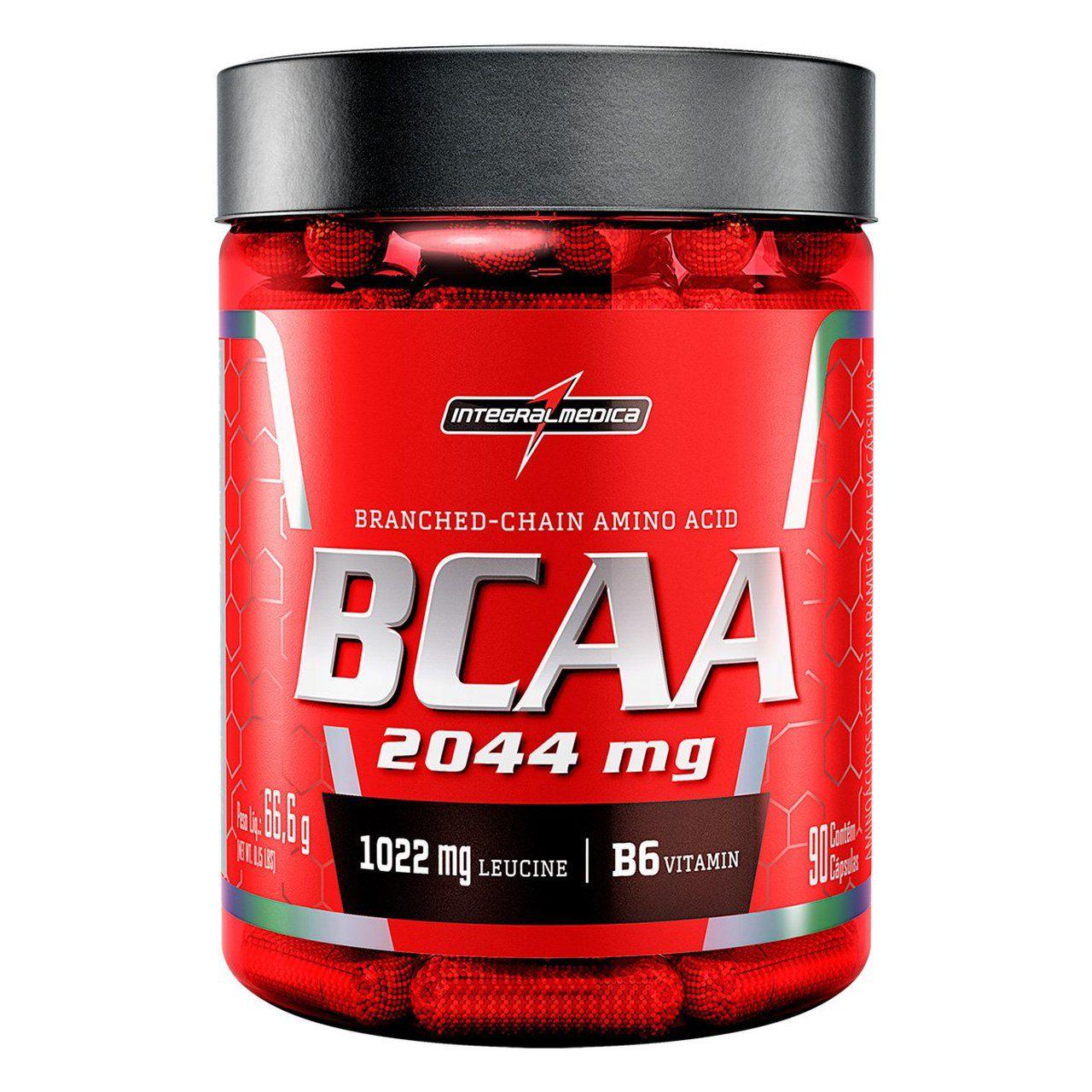BCAA 2044mg (90 Caps) - IntegralMédica