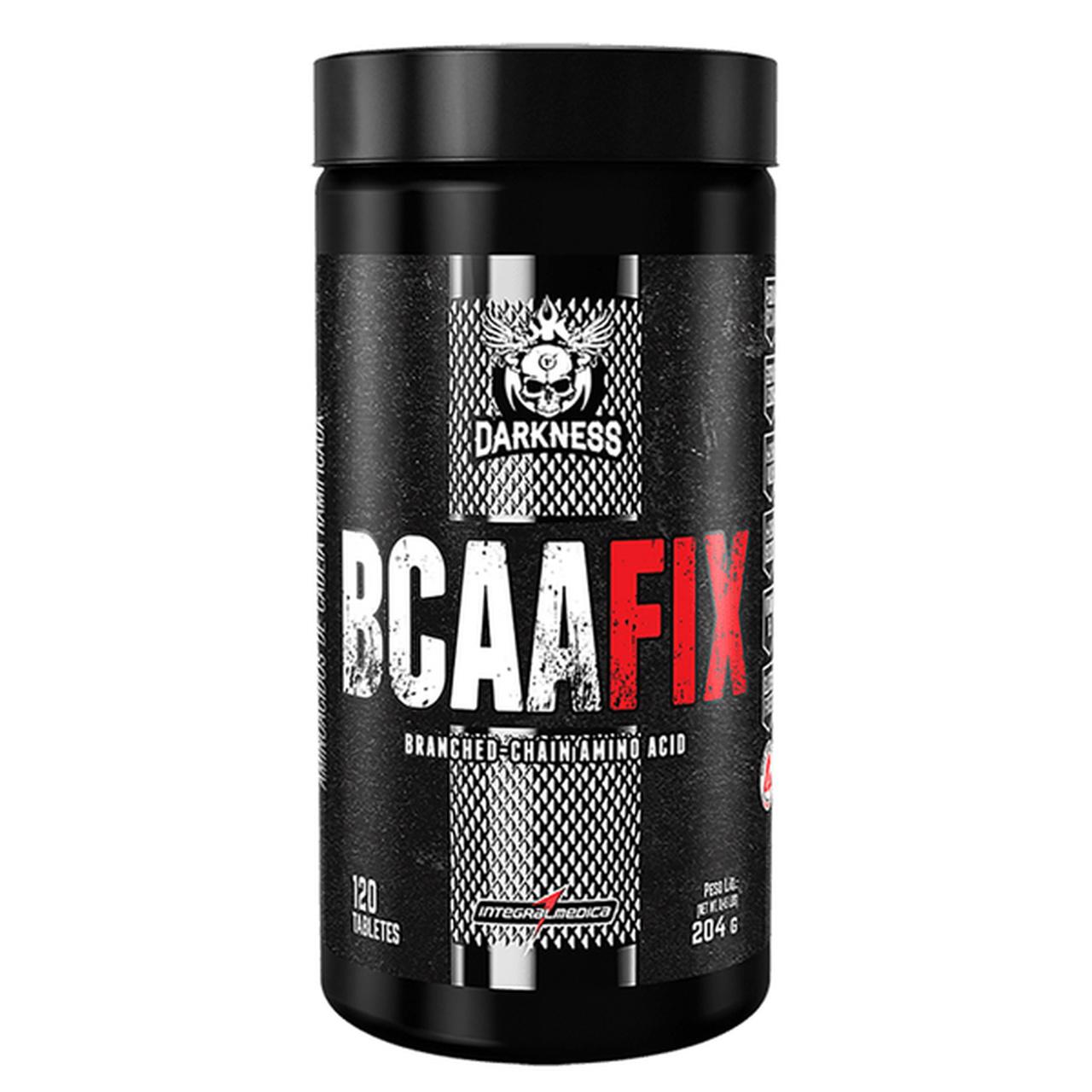 BCAA FIX - Darkness (120 Caps) - IntegralMédica
