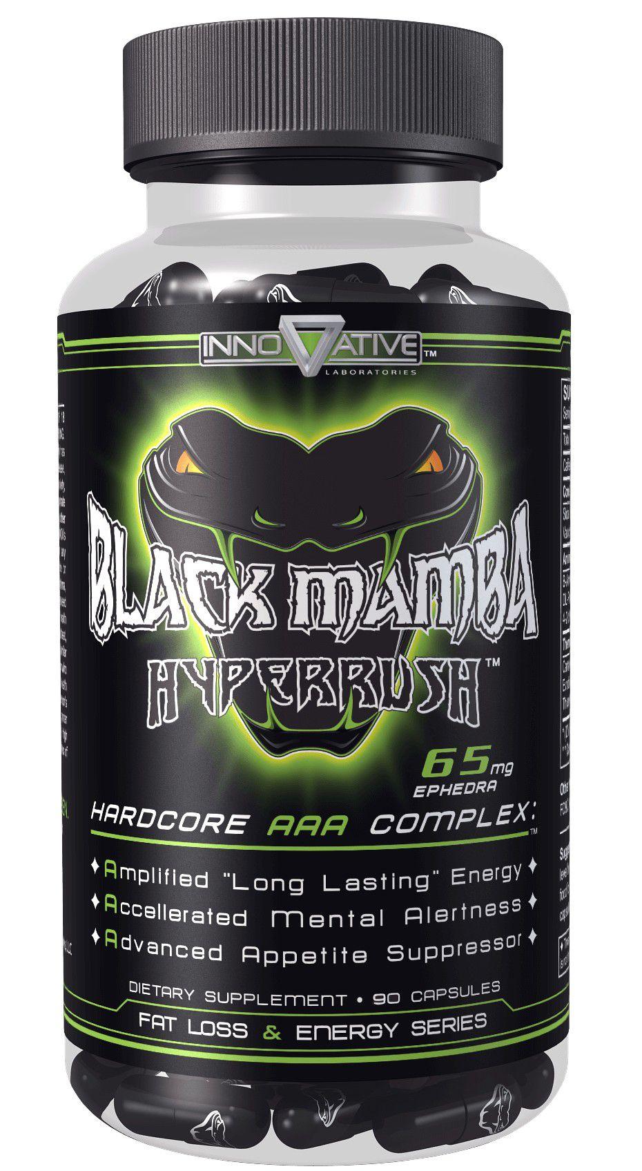 Black Mamba Termogênico (90 Caps) - Innovative