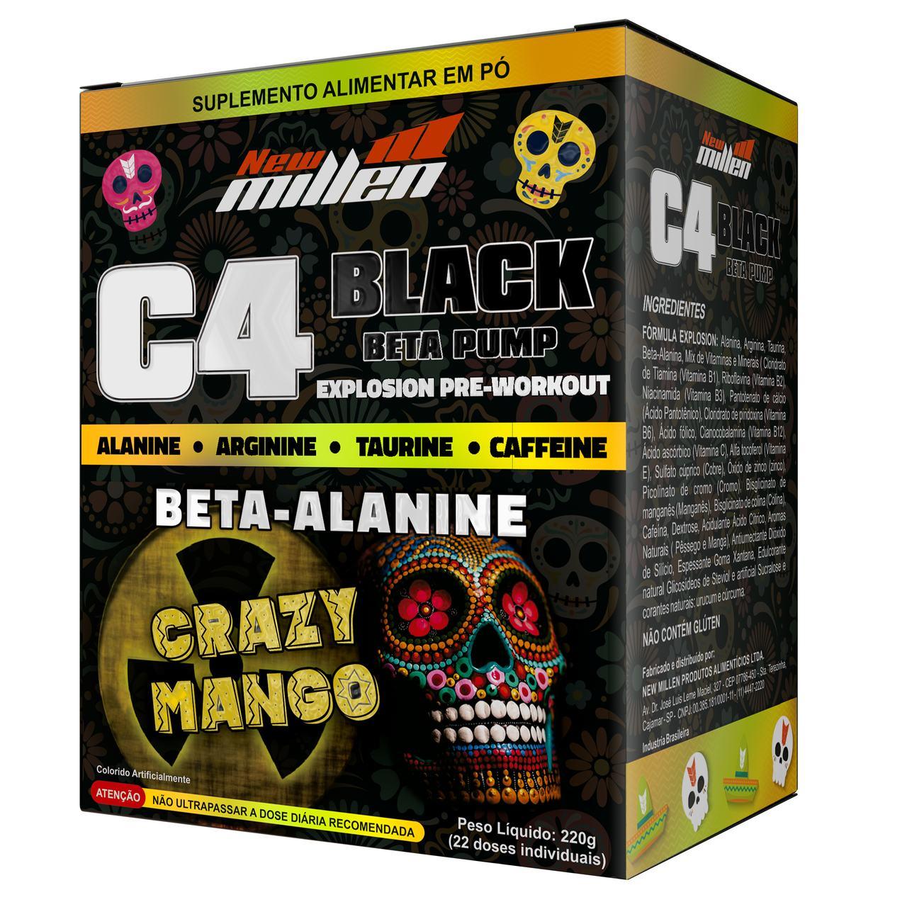 C4 Black Beta Pump (220g/22doses) -  New Millen
