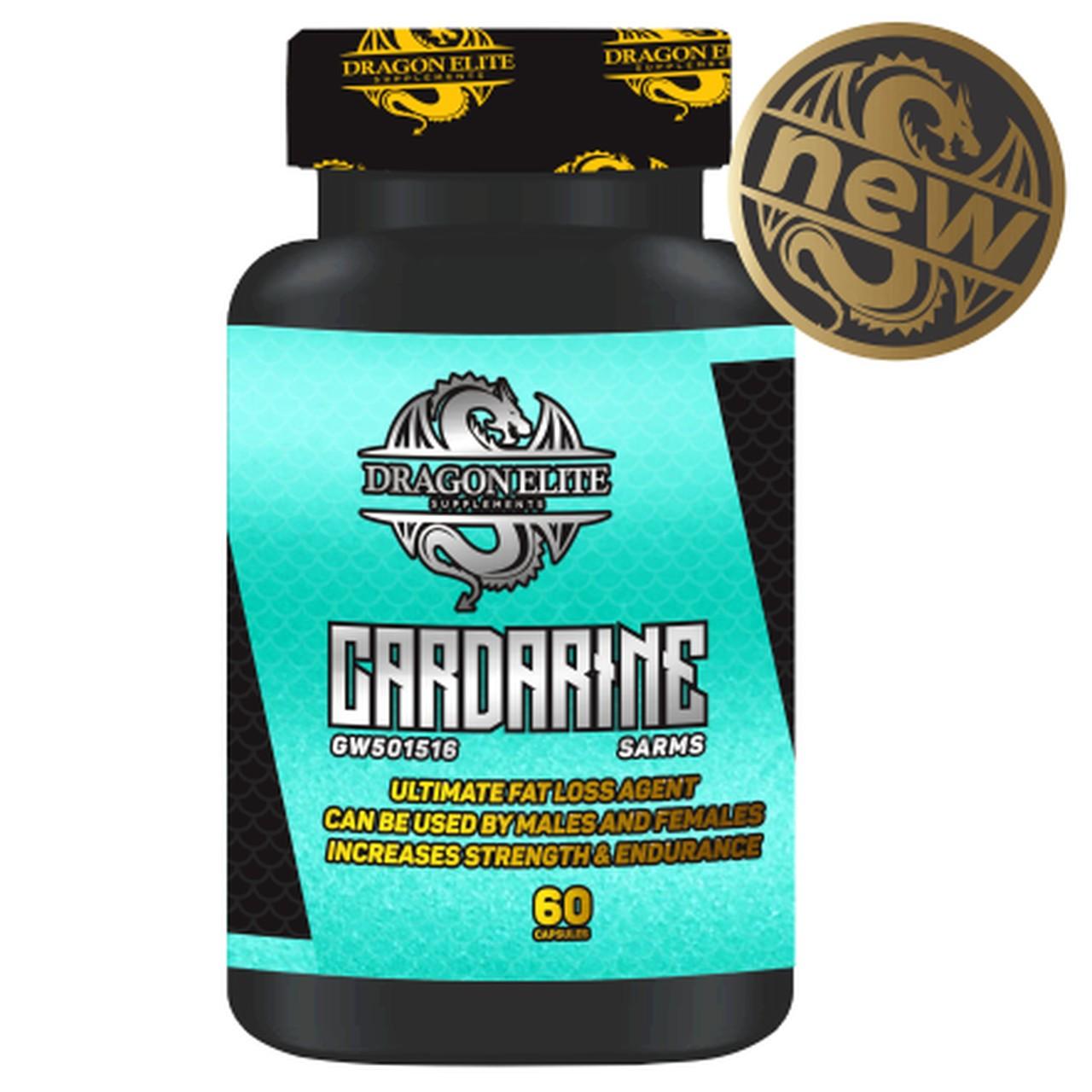 Carderine GW501516 SARMS 15mg (60 Caps) - Dragon Elite