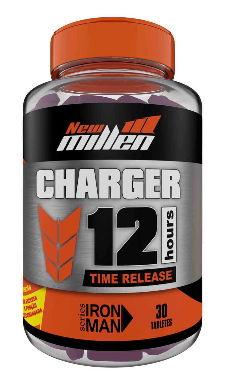 Charger 12 Hours (30 Tabs) - New Millen