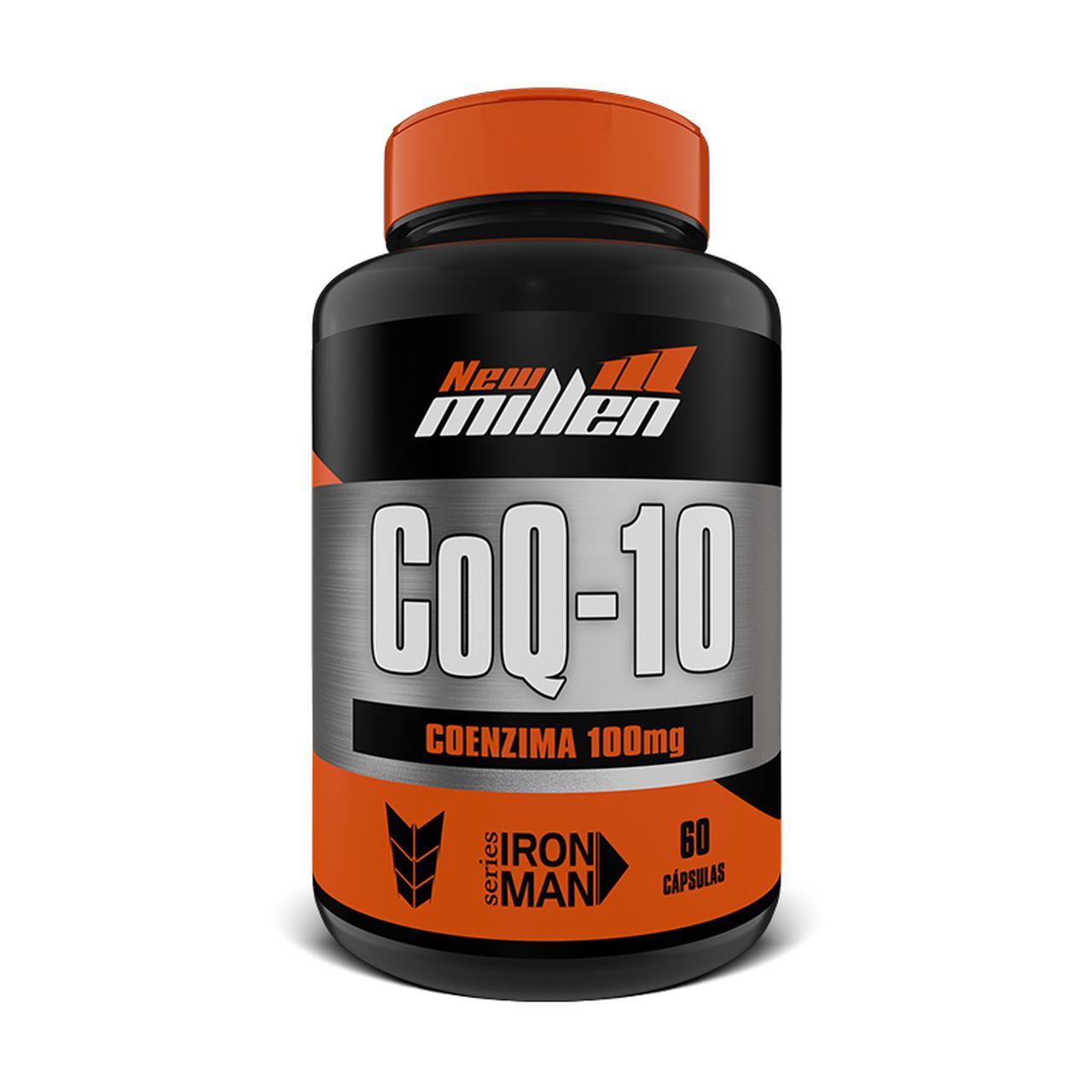CoQ-10 - Coenzima 100mg (60 Caps) - New Millen