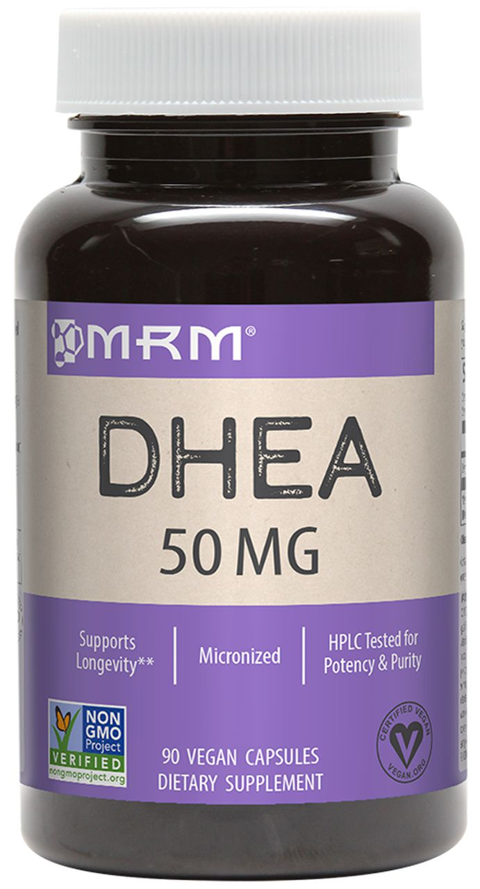 DHEA 50mg  (90 Vegan Caps) - MRM - Importado Americano