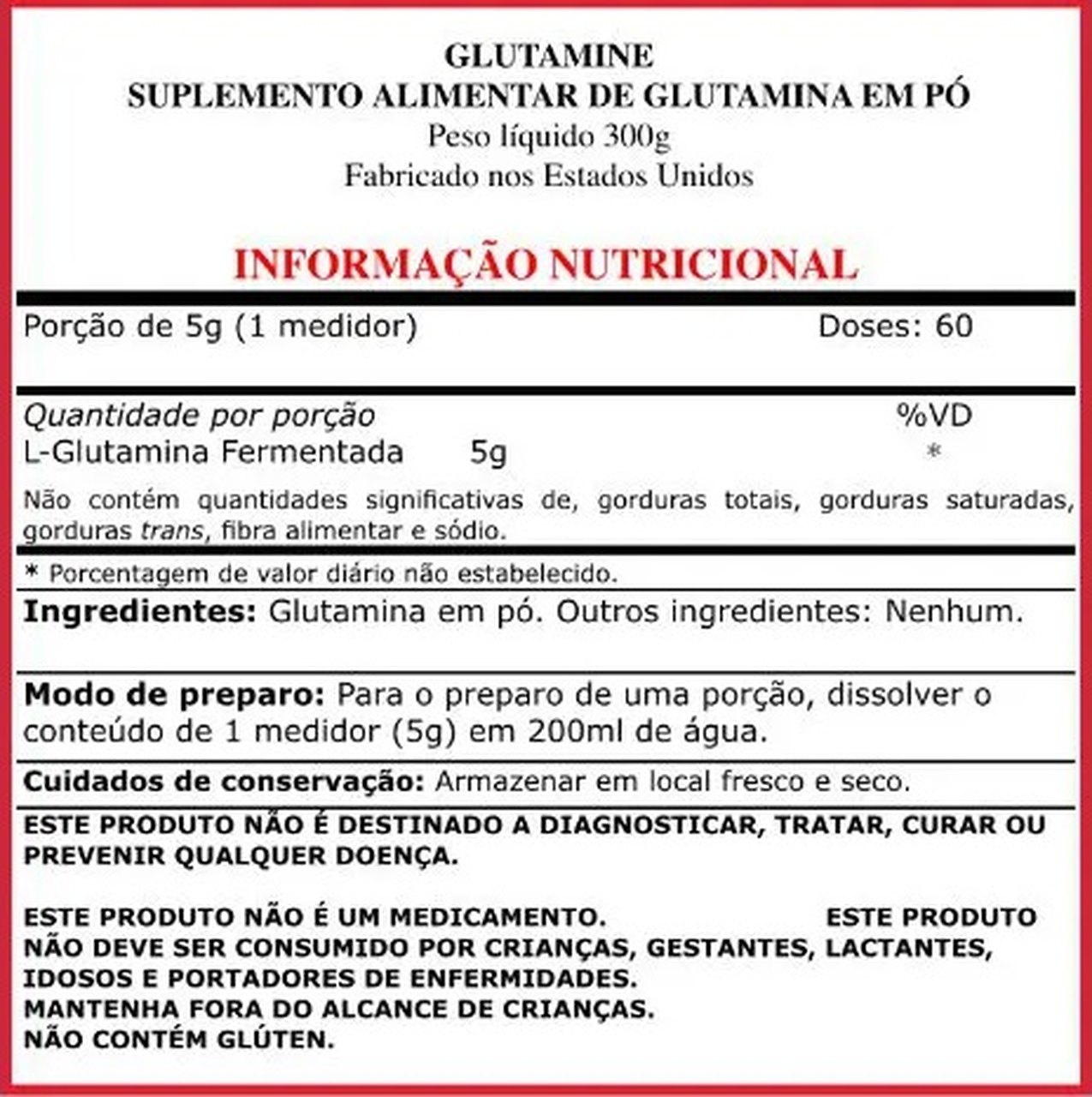 Glutamine (300g) - Purus Labs