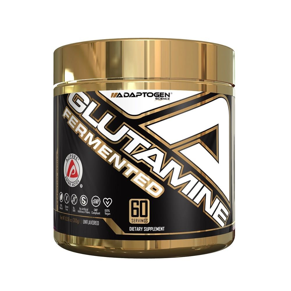 Glutamine Fermented (300g) - Adaptogen Science