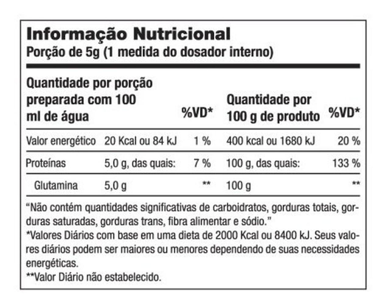 Glutamine Isolates (300g) – IntegralMédica