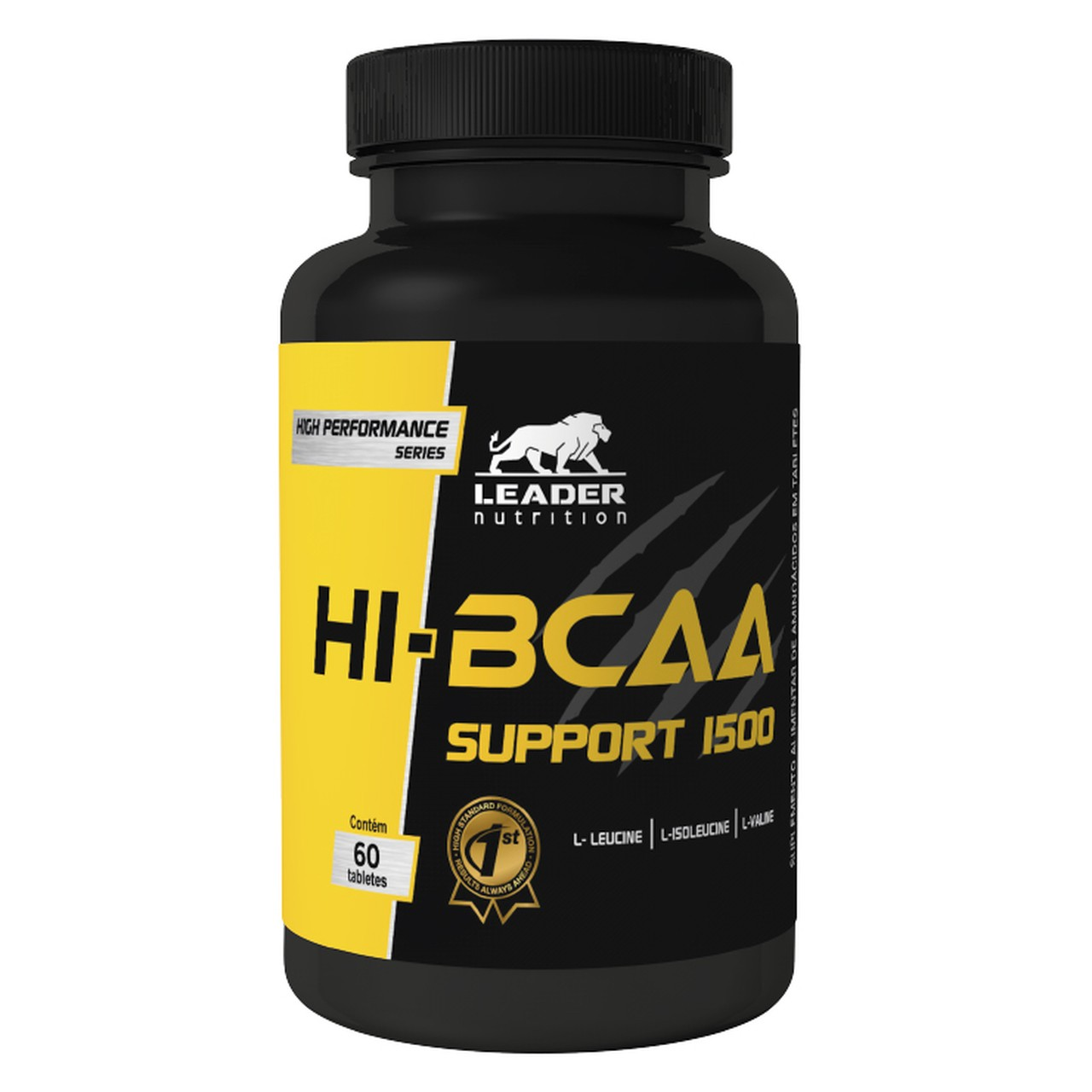 Hi-BCAA Support 1500 (60 Tabs) - Leader Nutrition