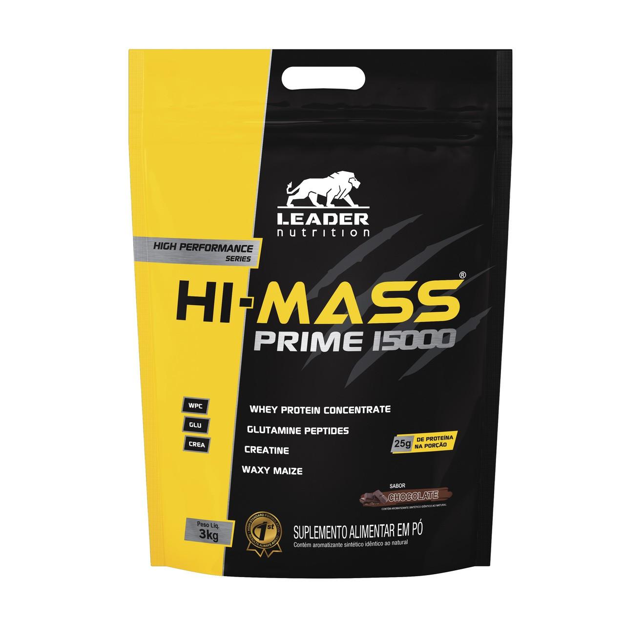 Hi-Mass Prime 15000 (3kg) - Leader Nutrition