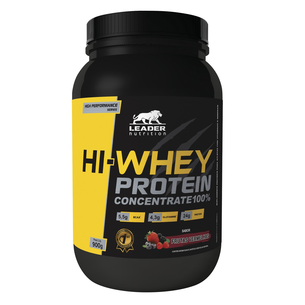 Hi-Whey Protein 100 % Concentrate (900g) - Leader Nutrition