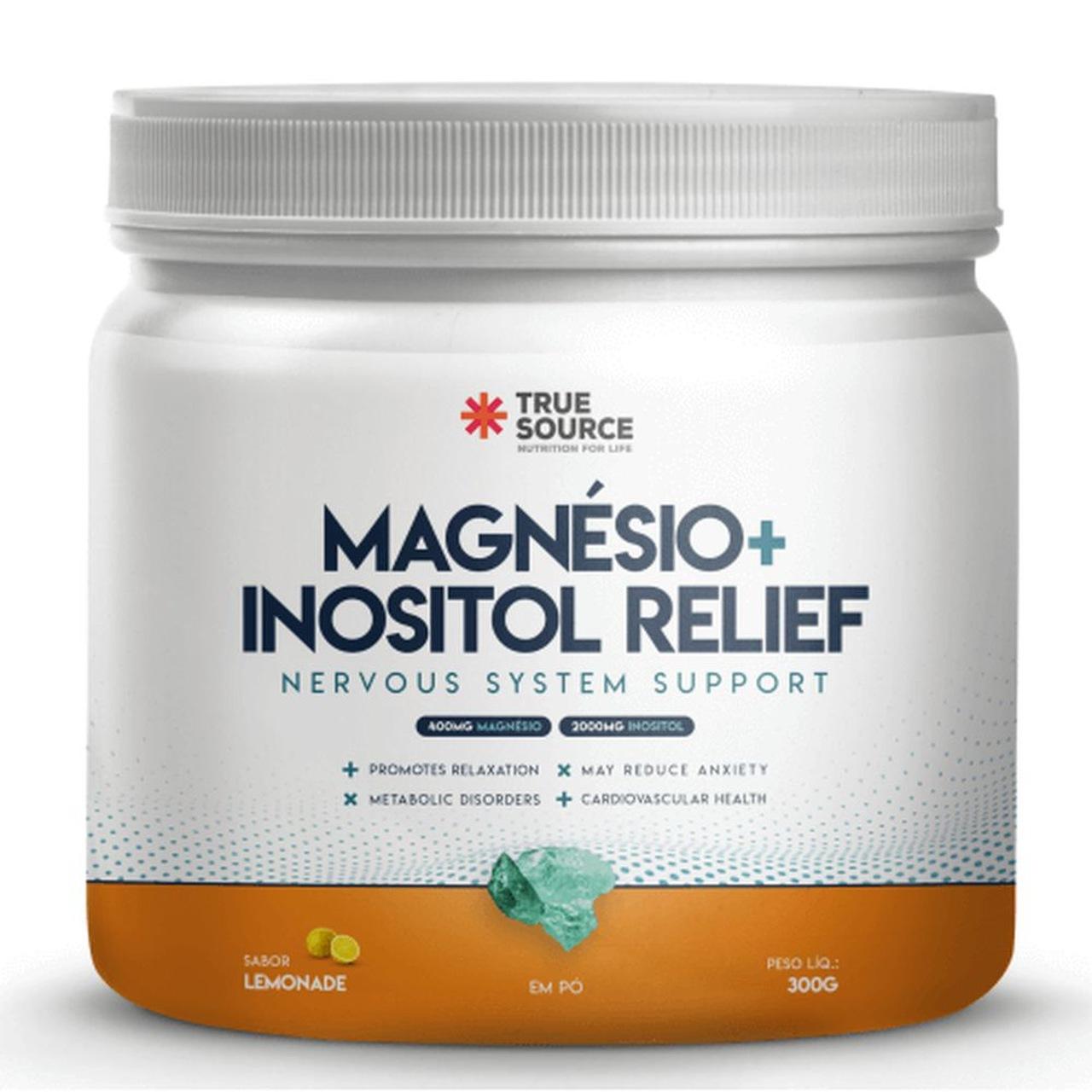 Magnésio + Inositol Relief (300g) - True Source