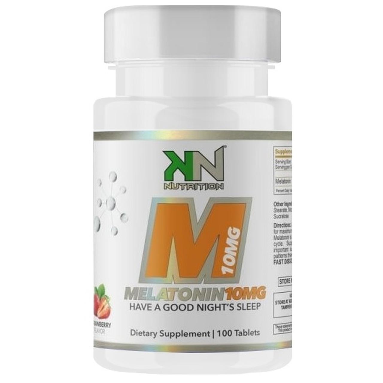 Melatonina 10mg (100 Tabs) Sublingual - KN Nutrition