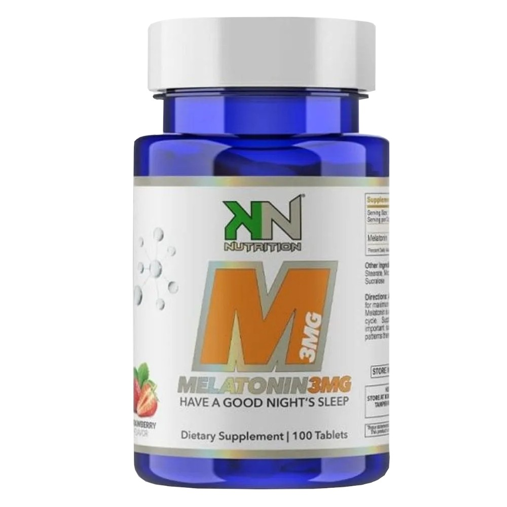 Melatonina 3mg (100 Tabs) Sublingual - KN Nutrition