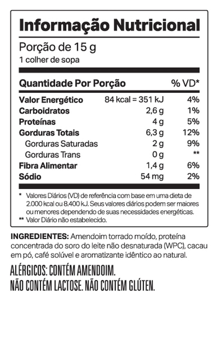 Nutdop (500g) Pasta de Amendoim - Elemento Puro