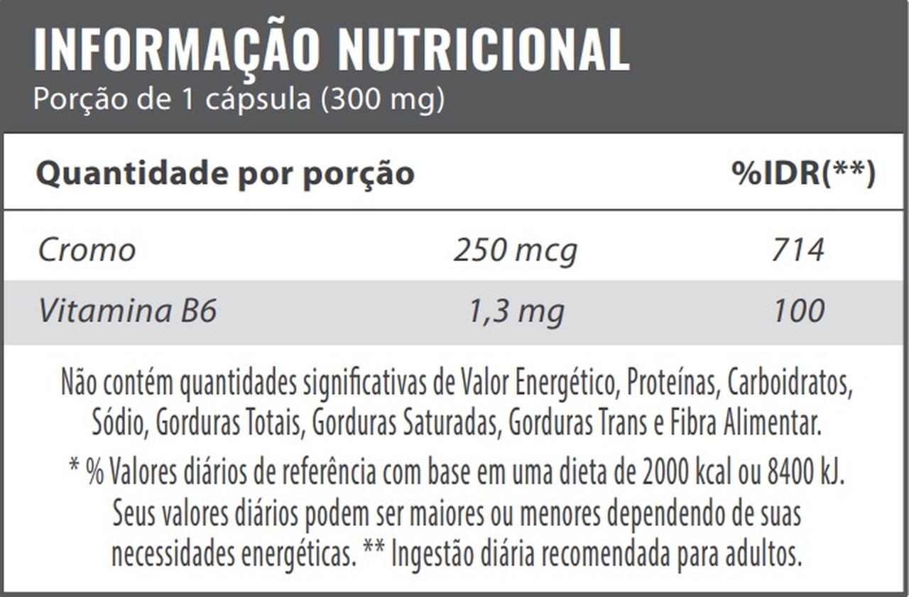 Picolinato de Cromo (60 Caps) - New Millen