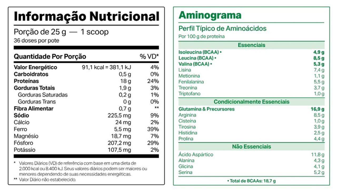 Vegdop (900g) - Proteína da Ervilha - Elemento Puro